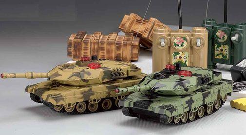 Радиоуправляемые модели танк
