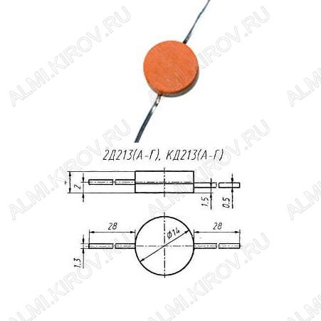 Диод КД213Б (2Д)