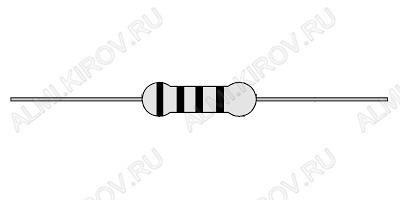 Резистор 100 Ом 0.5Вт 5% C1-4