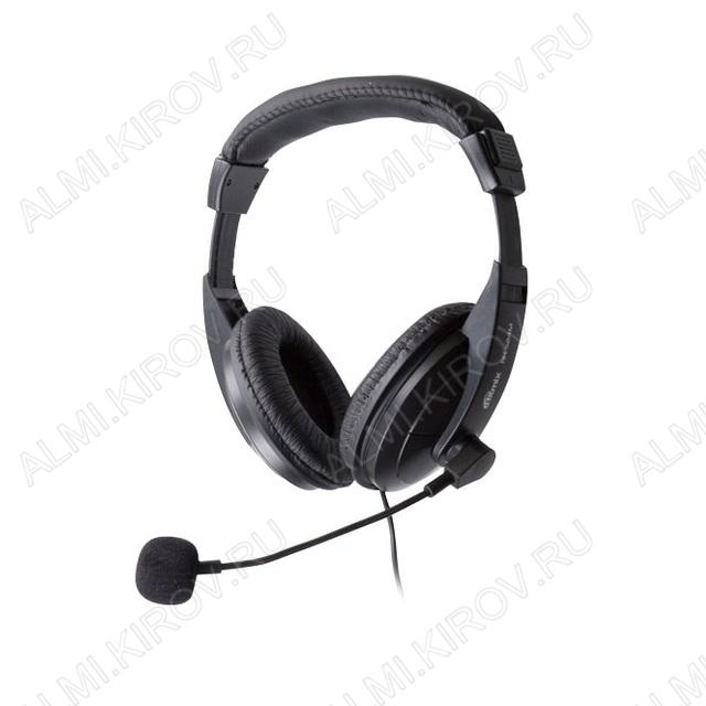 Наушники дуговые с микрофоном RH-524M