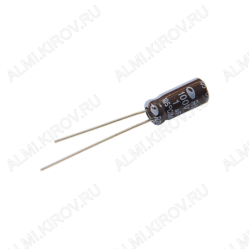 Конденсатор CAP1/100V 0511 (-55 - +105°C);