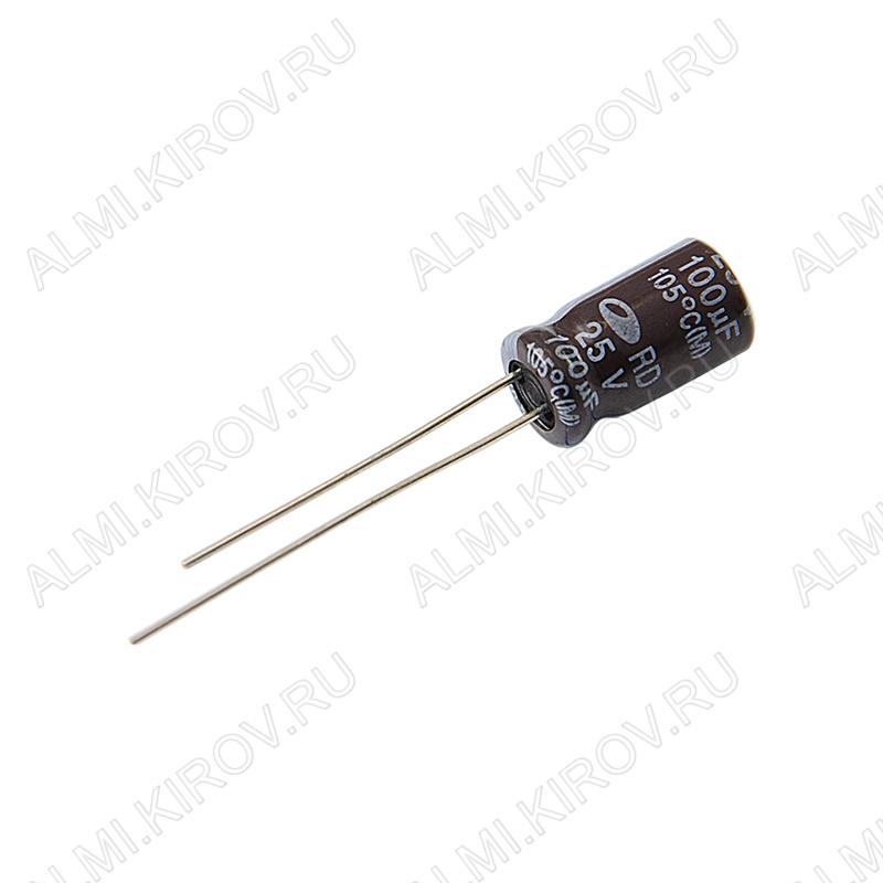 Конденсатор CAP100/25V 0611 (-55 - +105°C);
