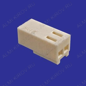 Разъем HU-02 Розетка на кабель, 2к, 2.54