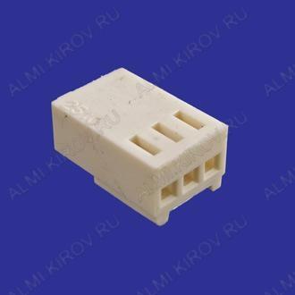 Разъем HU-03 Розетка на кабель, 3к, 2.54