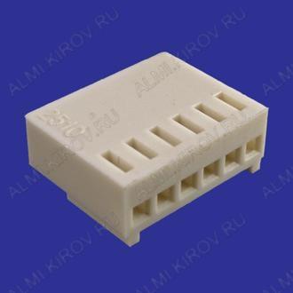 Разъем HU-06 Розетка на кабель, 6к, 2.54