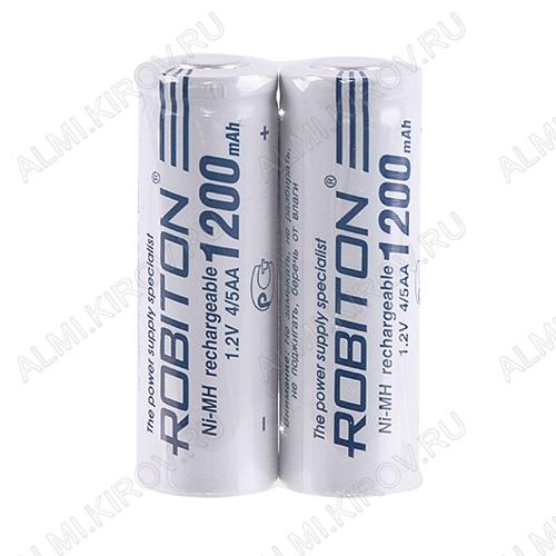 Аккумулятор 4/5AA 1200mAh 1.2V;NiCd; 14.4*42.8мм                                                                                                          (цена за 1 аккумулятор