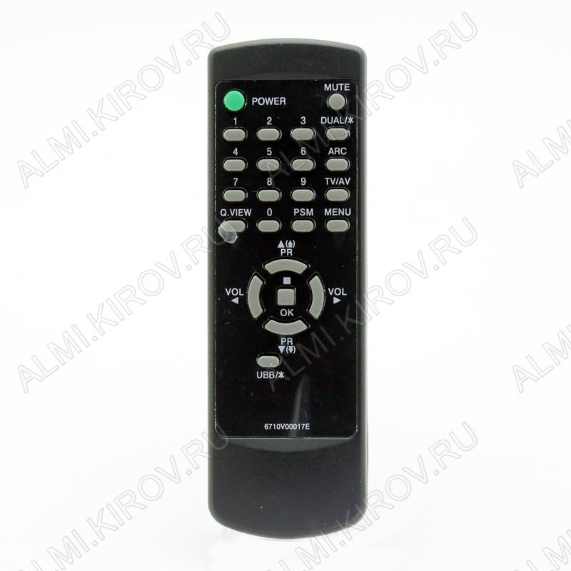 ПДУ для LG/GS 6710V00017E TV