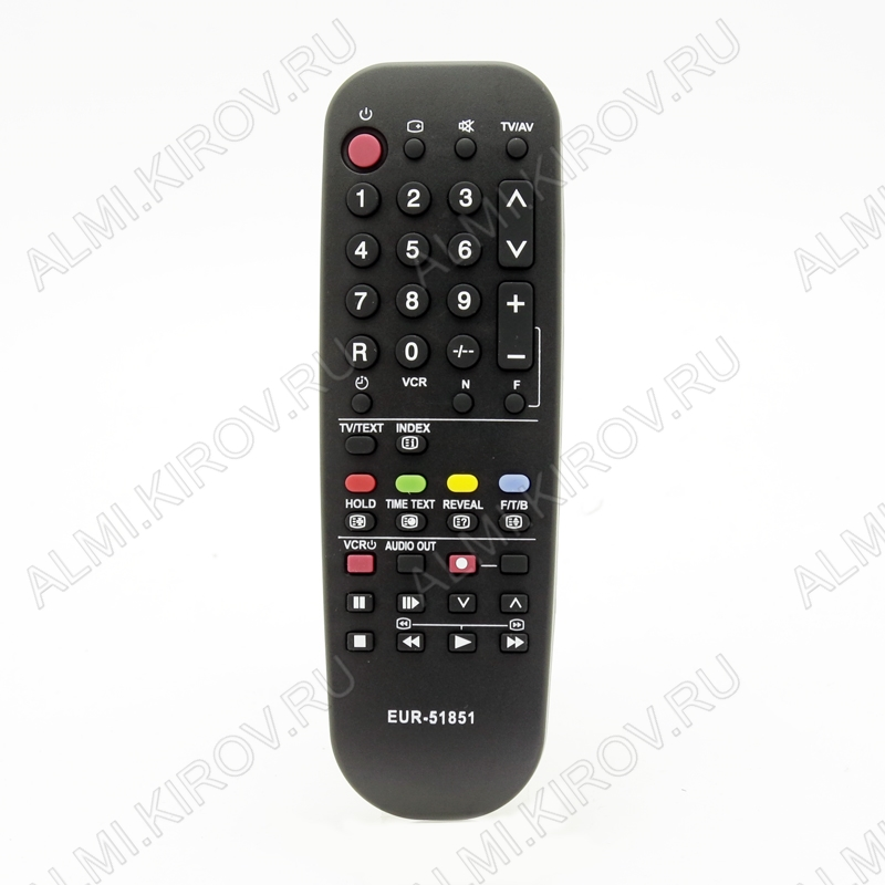 ПДУ для PANASONIC EUR51851 TV/VCR