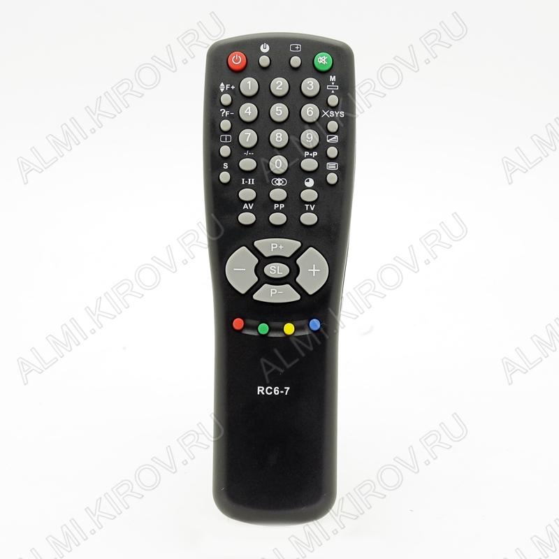 ПДУ для RC-6-7 (HORIZONT) TV