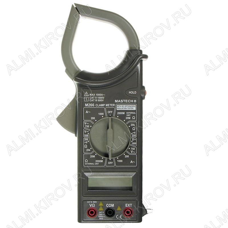 Мультиметр M-266 токовые клещи (Госреестр)