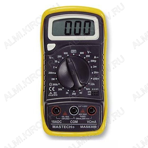 Мультиметр MAS-830B (гарантия 6 месяцев)