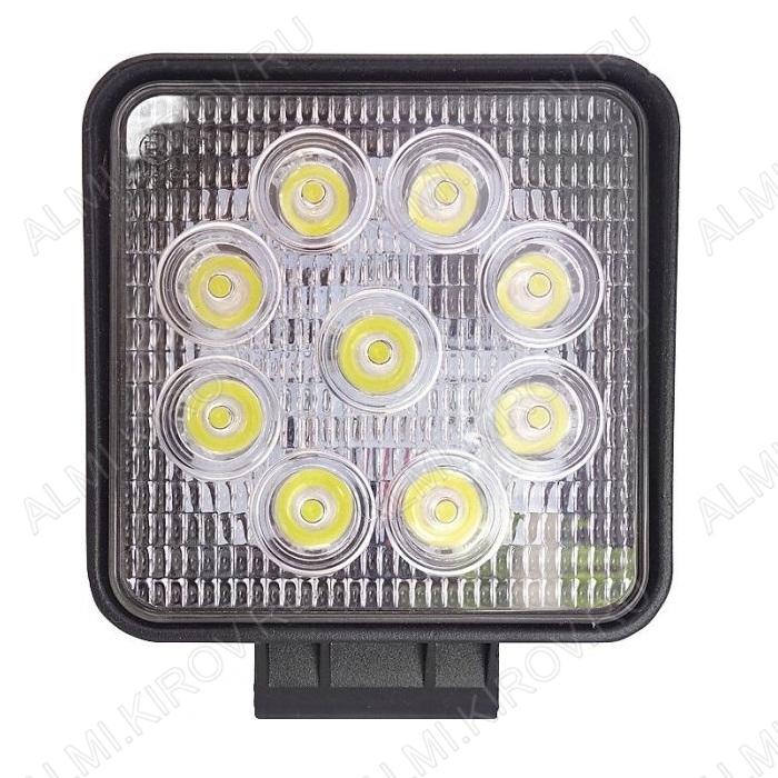 Фара светодиодная 27W квадратная (G8005) направленного света