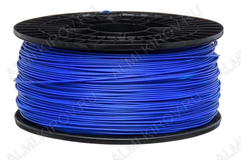 ABS пластик для 3D печати 1.75мм. Синий (м) (6068) 1м..; Плотность: 1,05 г/см; Темп. экструзии: 230 - 240 °С; Тепл. изделия: 105 °C; Производитель:  (ФДпласт)