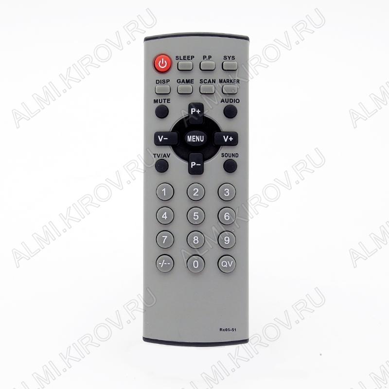 ПДУ для POLAR RC05-51 TV
