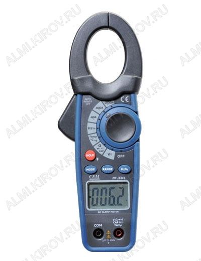 Мультиметр DT-3343 токовые клещи (Госреестр) (упаковка пенал)