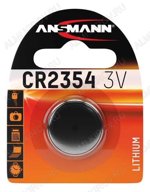 Элемент питания CR2354 3V;литиевые; блистер 1/10                                                                                            (цена за 1 эл. питания)