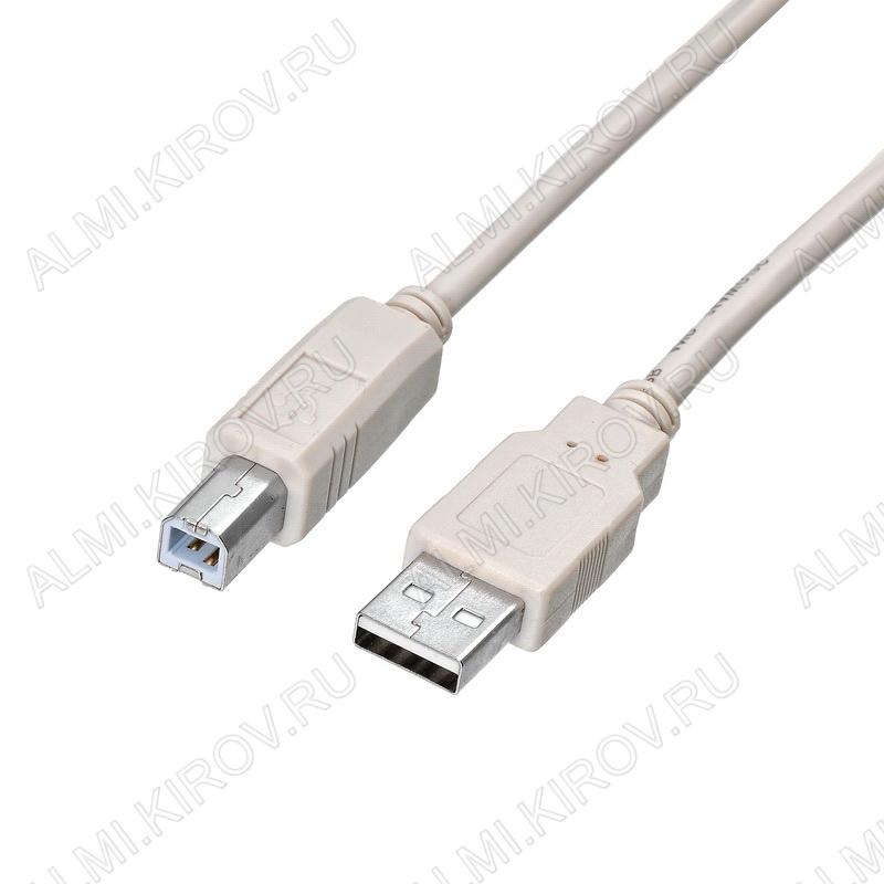 Шнур USB A шт/USB B шт 5.0м