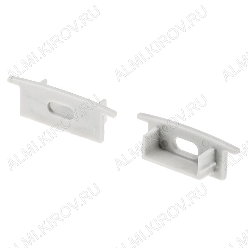 Заглушка ARH-WIDE-F-H10 (016133)  для профиля ARH-WIDE-F-H10-2000 ANOD с отверстием; пластик