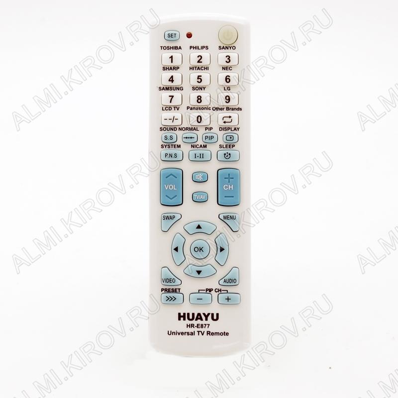 ПДУ УНИВЕРСАЛ HR-E877 BLUE TV