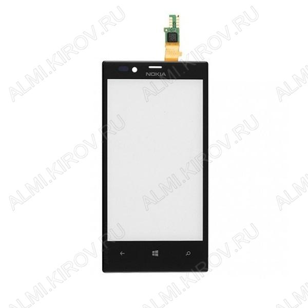 ТачСкрин для Nokia 720 черный