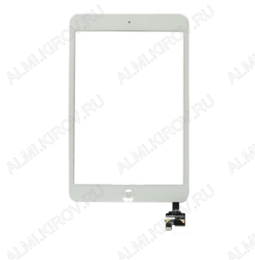 ТачСкрин для Apple iPad mini/mini 2 (без разъема) белый