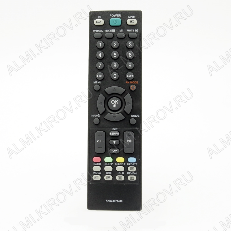 ПДУ для LG/GS AKB33871408 LCDTV