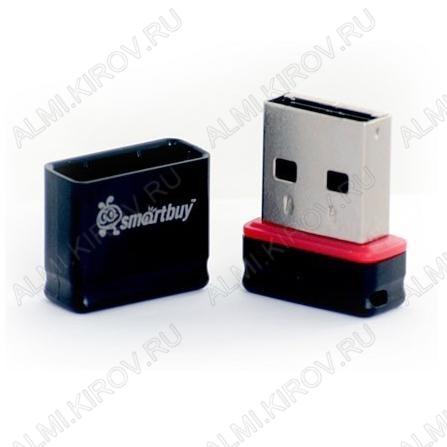 Карта Flash USB 8 Gb (Pocket Black mini) USB 2.0