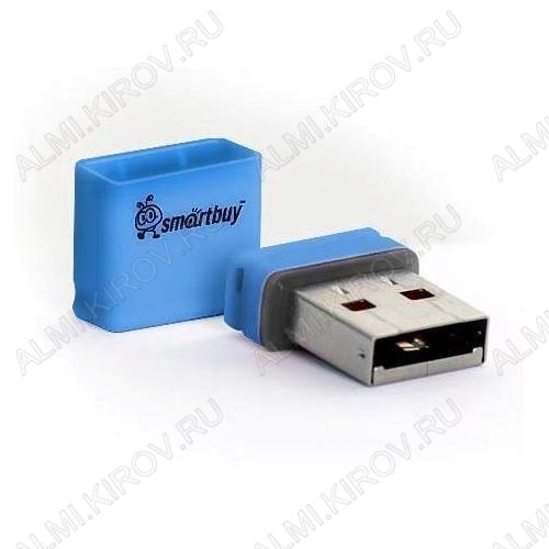 Карта Flash USB 4 Gb (Pocket Blue mini) USB 2.0