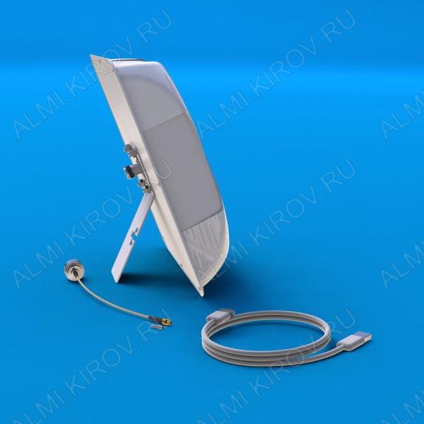 Антенный комплект для 3G USB-модема ДОМАШНИЙ Диапазон 1700-2180MHz; 14dB; в комплекте антенна AX-2014P с настольной подставкой + адаптер N шт/TS9 шт, переход. TS9 гн/CRC9 шт + USB-удлинитель 3м