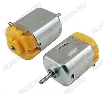 Мотор F130-16155 4.5V 1.0-5.0V, 0.28A, 0.67W, 5516 rpm