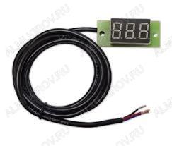 Индикатор скорости ИС1-К красное свечение 0-999км/ч. погрешность 1км/ч, питание 8-16В