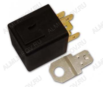 Реле авто. 401.3787 (5 pin) переключающее 24В, ток 20/10А, размеры 37х28х23мм
