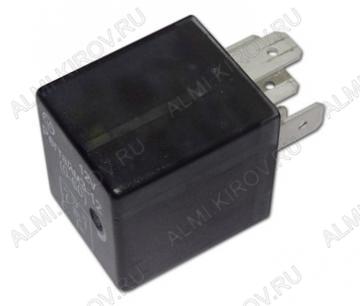 Реле времени авто. Регтайм 3-12 (60-600с) 12В; 25А; Время работы (60-600с); подстроечный резистор(11об.); размеры 40х28х25мм