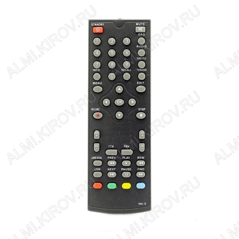 ПДУ для ORIEL ДУ-5 (для ресивера 301) DVB-T2