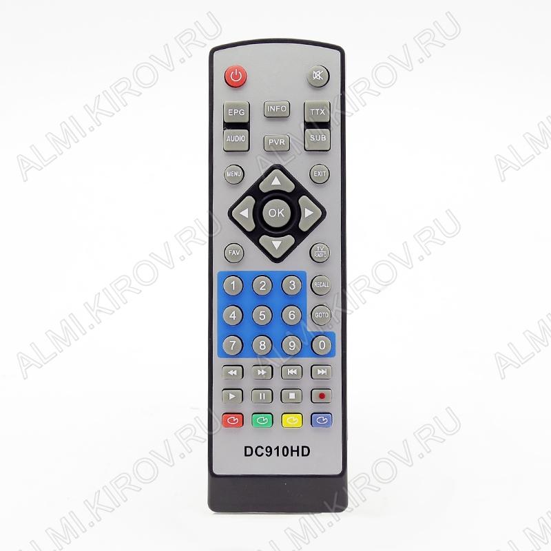 ПДУ для D-COLOR (для ресивера DC910HD/DC930HD) DVB-T2