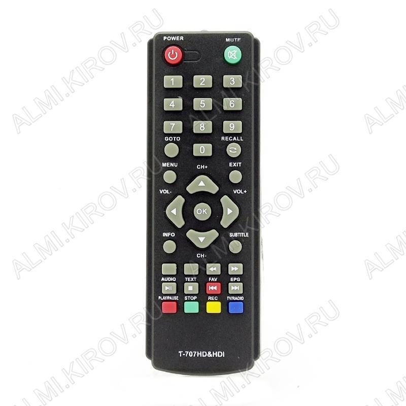 ПДУ для GOLDMASTER T-707HD&HDI/SKY VISION T-2108 DVB-T2