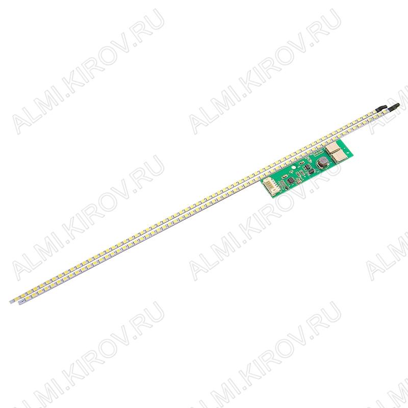 Комплект:модуль подсветки LED TV 356мм(17') 66(72) светодиодов 2835 2шт +драйвер