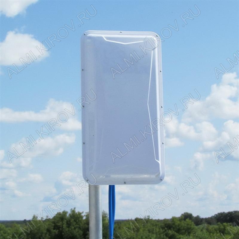 Антенна стационарнaя NITSA-5 MIMO 2x2 для 3G/4G USB-модема 2G/3G/4G/LTE; 900-2700 MHz; 9-14dB; без кабеля; 2 разъема N-гнезда