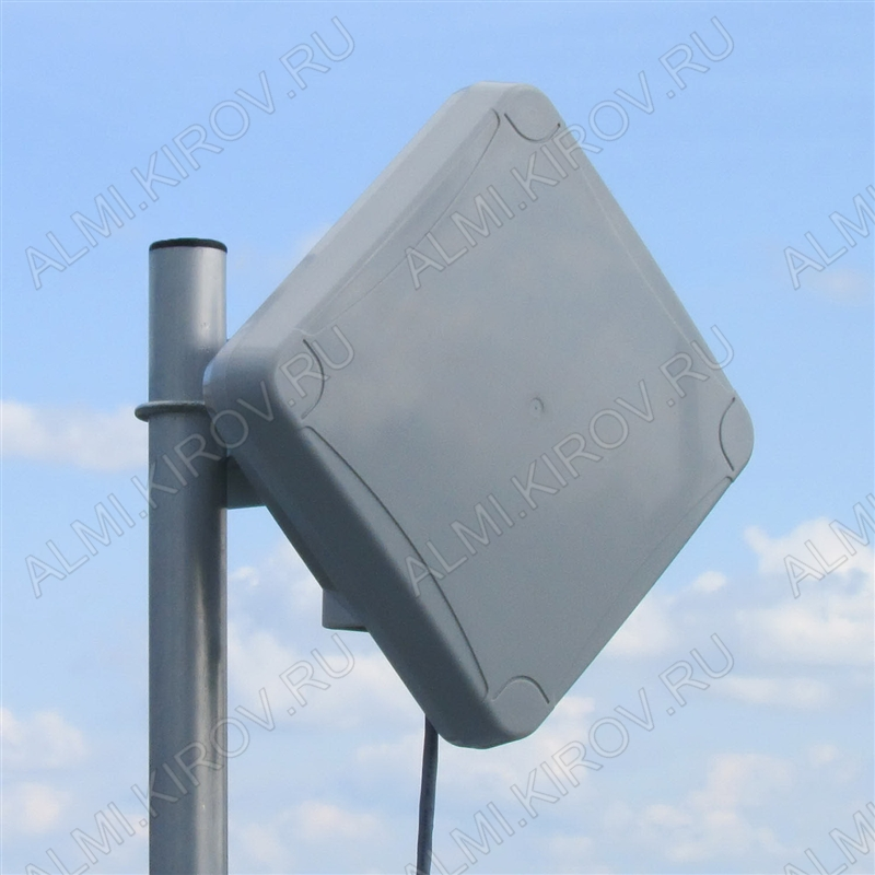 Антенна стационарная PETRA BROAD BAND MIMO2x2 UNIBOX для 3G/4G USB-модема 3G/4G/LTE; 1700-2700 MHz; 15dB; USB-удлинитель 10м; 2 разъема SMA-штекеры в гермобоксе для модема; без адаптеров