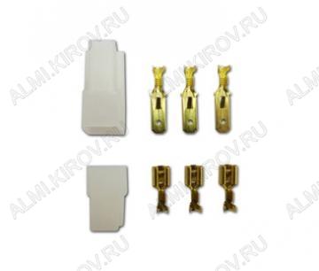 Комплект колодок КСГШ3/(KE3207+KD3105) с 3 контактами
