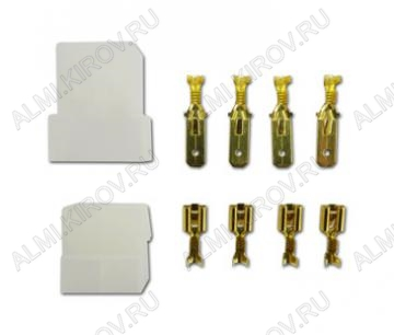 Комплект колодок КСГШ4/(KE3208+KD3106) с 4 контактами