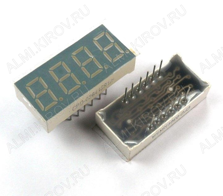 Индикатор CPD-03641SR1/A LED 4DIG,0.36',R,AN;