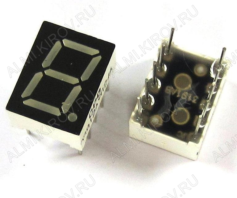 Индикатор CPD-03914SR2/A LED 1DIG,0.39',R,AN;