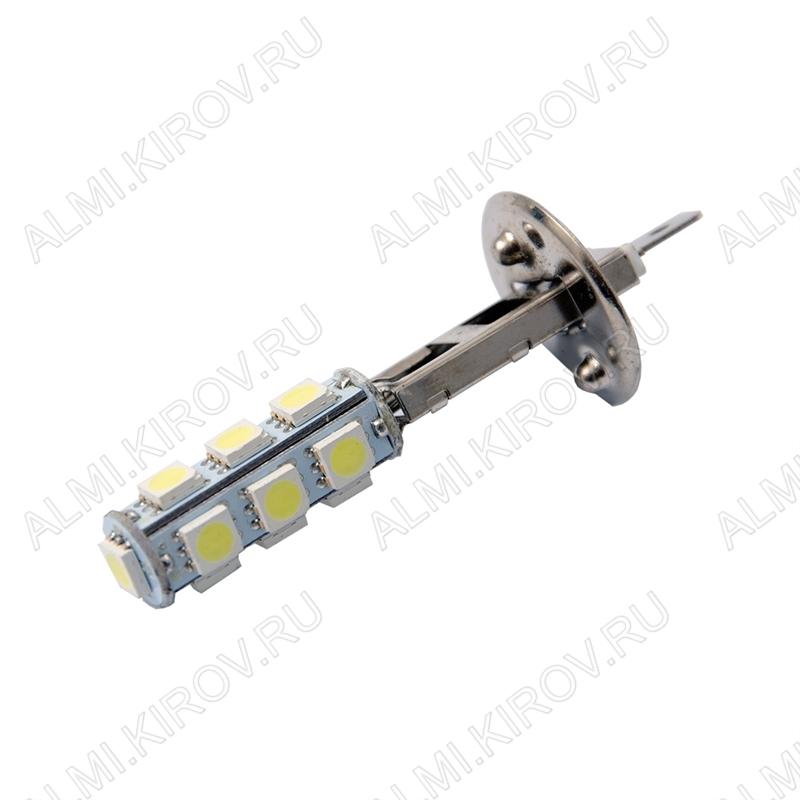 Лампа светодиодная (A11) H1 P14.5s 12V (цвет белый) автомобильная