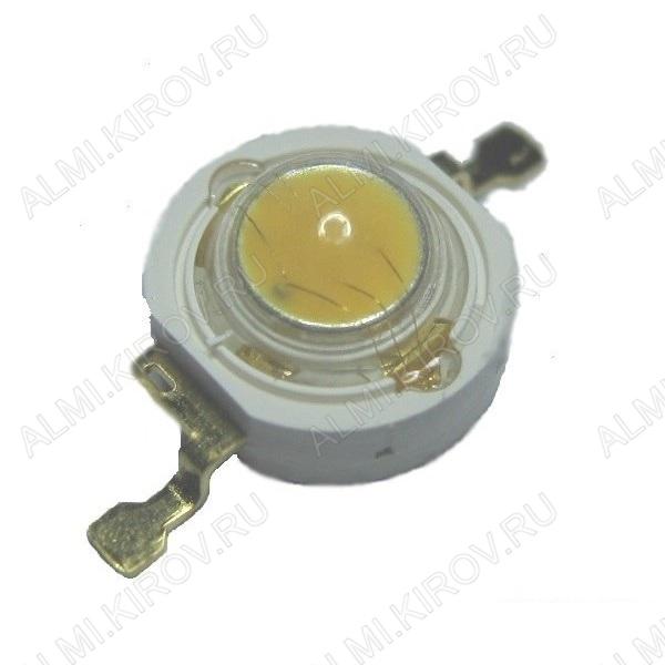 Светодиод EMITTER 1W инфракрасный ARPL-1W-EPL IR850 (019593) 830-850nm, ФV=5-10Lm, IF=350mA, VF=5.2-10.0V, угол 60°; для ИК-сенсоров, видеонаблюдения
