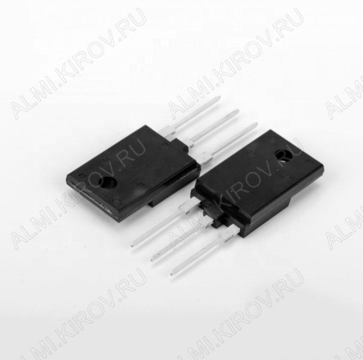 Транзистор BU808DFI Si-N-Darl+Di;1400/700V,5A,5