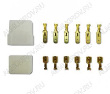 Комплект колодок КСГШ6/(KE3212+KD3107) с 6 контактами