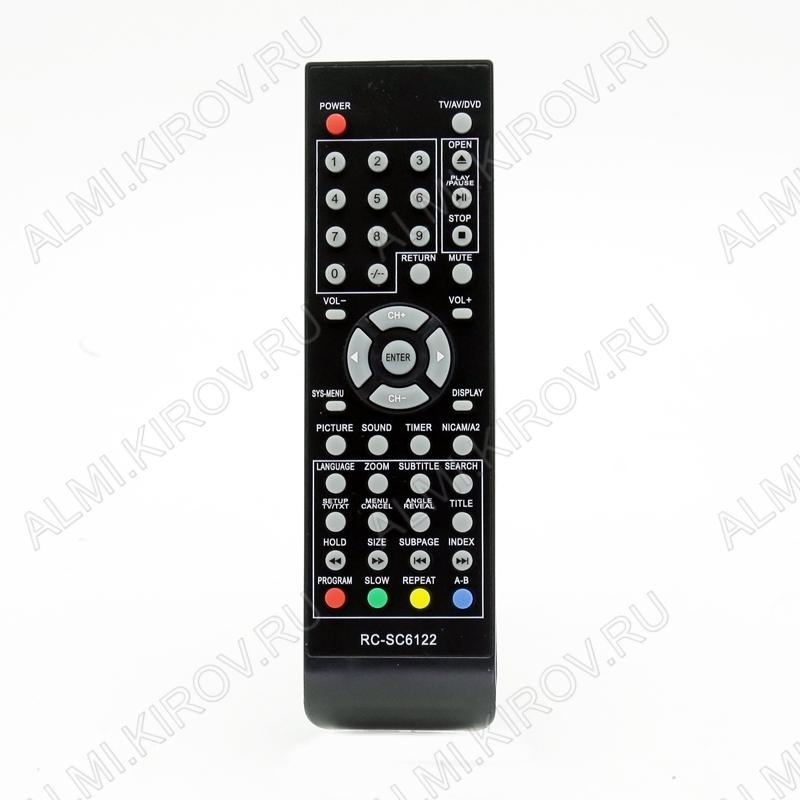 ПДУ для ERISSON RC-SC6122 LCDTV