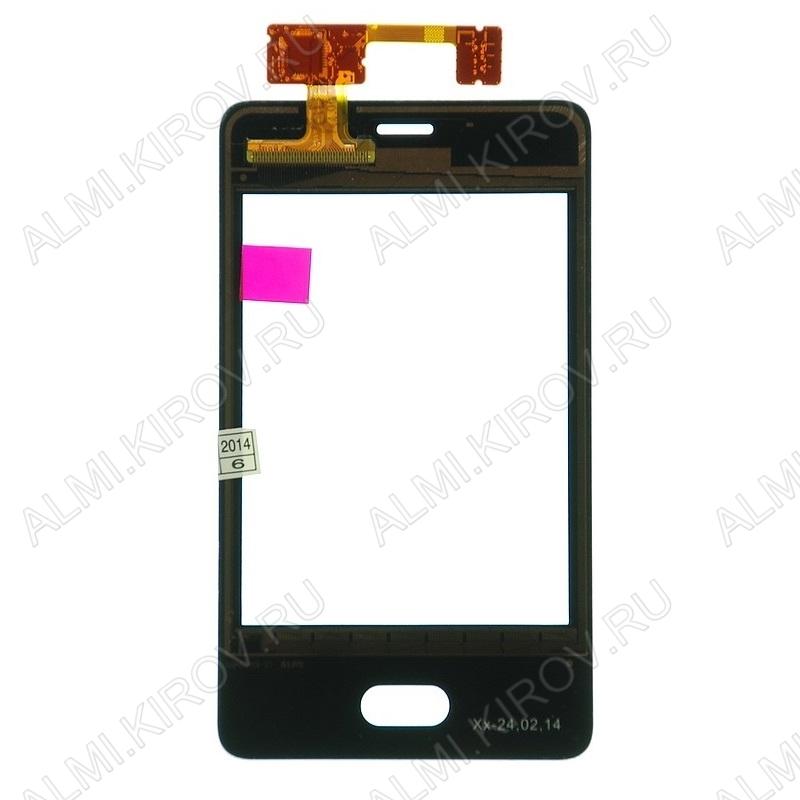 ТачСкрин для Nokia 501 ориг. черный