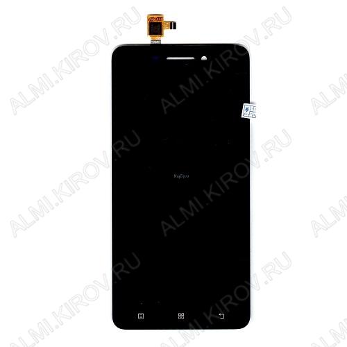 Дисплей для Lenovo S60 + тачскрин черный